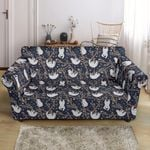 Sloth Happy Design Funny Pattern Sofa Cover