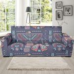 Navajo Native Aztec Indians American Tribal Theme Sofa Cover
