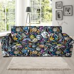 Alien Psychedelic Pattern Artistic Sofa Cover