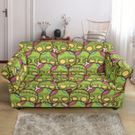 Zombie Head Funny Design Pattern Sofa Cover