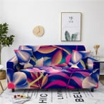 Floral Leaves Pattern Gorgeous Style Sofa Cover
