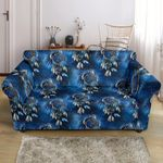 Eagles Dream Cather Blue Pattern Sofa Cover