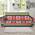 Navajo Aztec Tribal Native Theme Sofa Cover