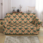 Old School Tattoo Swallow Pattern Sofa Cover