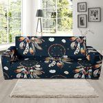 Boho Feather Dream Catcher Sofa Cover