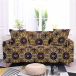 Bohemian Floral Texture Alluring Design Sofa Cover