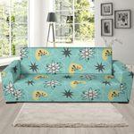Atom Science Pattern Artistic Sofa Cover