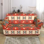 Aztec Red Tradition Pattern Sofa Cover