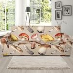 Mushroom Different Colors Funny Pattern Sofa Cover