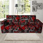 Urban Graffiti Hiphop Background Sofa Cover