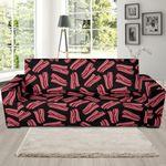 Bacon Pattern Artistic Sofa Cover