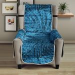 Blue Jean Tropical Forest Pattern Sofa Couch Protector Cover