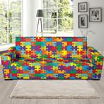 Autism Awareness Merchandise Sofa Cover