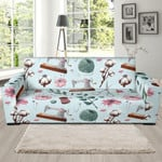 Background Sewing Pattern Theme Sofa Cover