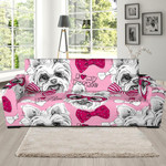 Yorkshire Terrier Puppy Theme Sofa Cover