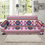 Navajo Native American Indians Aztec Tribal Theme Sofa Cover