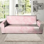 Beautiful Pink Marble Lightly Sofa Cover