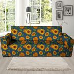 Sunflower Artistic Theme Sofa Cover