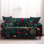 Christmas Day Cute Things Dark Theme Sofa Cover