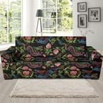 Chinese Rose Dragon Pattern Design Sofa Cover