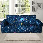 Multicolor Constellation Star Galaxy Space Sofa Cover
