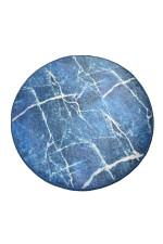 Blue Denim Colorful Background Round Rug Home Decor