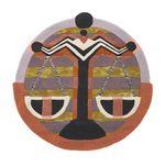 Ted Baker Zodiac Libra Round Rug Home Decor