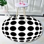 Three-dimensional Illusions Round Rug Home Decor