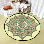 Cute Beautiful Vintage Texture Round Rug Home Decor
