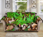 Camouflage Realistic Tree Fresh Pattern Sofa Couch Protector Cover