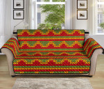 Rasta Reggae Color Pattern Sofa Couch Protector Cover