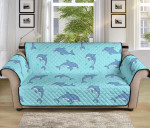 Dolphin Baby Cute Pattern Sofa Couch Protector Cover