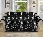 Deer Native Indian Pattern Sofa Couch Protector Cover