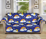 Rainbow Space Cute Pattern Sofa Couch Protector Cover
