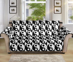 Multi Yin And Yang Classic Sofa Couch Protector Cover