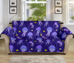 Jellyfish Style Pattern Sofa Couch Protector Cover