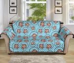 Monkey Cute Summer Pattern Sofa Couch Protector Cover