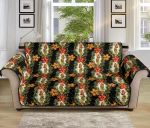 Hawaiian Flower Hula Hibiscus Pattern Sofa Couch Protector Cover