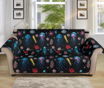 Jellyfish Underwater Pattern Sofa Couch Protector Cover