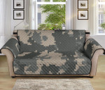 Acu Digital Camo Pattern Sofa Couch Protector Cover