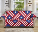 American Flag Pattern Sofa Couch Protector Cover