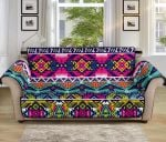 Indian Navajo Color Themed Design Pattern Sofa Couch Protector Cover