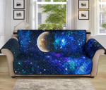 Galaxy Stardust Planet Pattern Sofa Couch Protector Cover