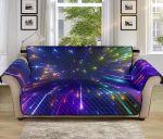 Celestial Rainbow Speed Light Sofa Couch Protector Cover