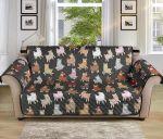 Multi Alpaca Cute Pattern Sofa Couch Protector Cover