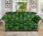 Shamrock Yellow Pistil Pattern Sofa Couch Protector Cover