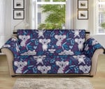 Koala Cute Bamboo Pattern Sofa Couch Protector Cover