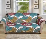 Tribal Wave Pattern Sofa Couch Protector Cover
