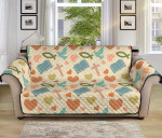 Christian Symbol Pattern Sofa Couch Protector Cover