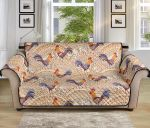 Chicken Boho Style Pattern Sofa Couch Protector Cover